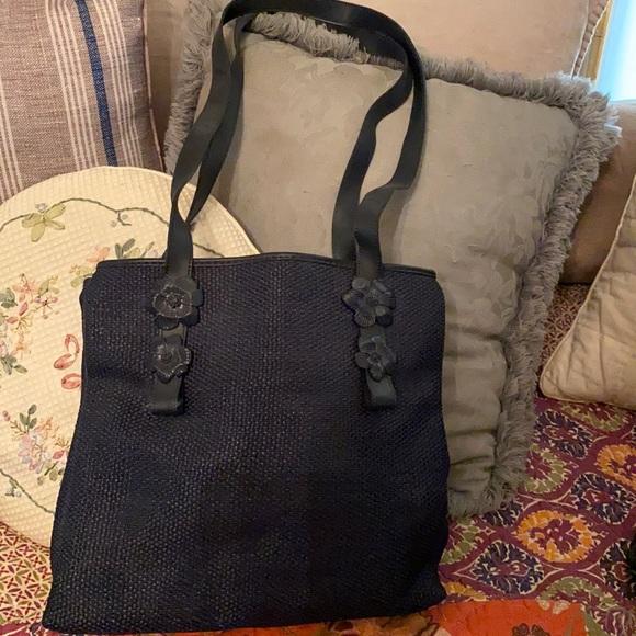 Francesco Biasia made in Italy flower handbag